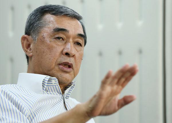 元自民党参院幹事長の脇雅史氏(C)日刊ゲンダイ