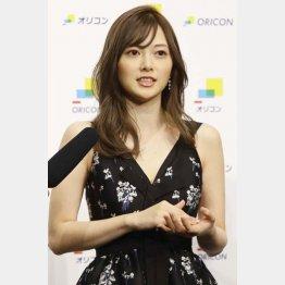 白石麻衣に何が?(C)日刊ゲンダイ