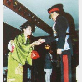叙勲式(提供写真)