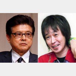 三浦友和(左)は高校の同級生(C)共同通信社