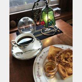 フレンチトーストは濃い目のコーヒーとピッタリ(C)日刊ゲンダイ