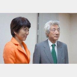 """野党候補を""""応援""""(新潟県知事選)(C)日刊ゲンダイ"""