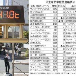 熊谷で国内最高を更新