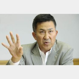 サッポロビール 髙島英也社長(C)日刊ゲンダイ