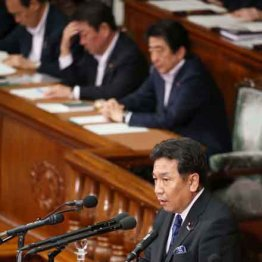 枝野幸男代表の内閣不信任決議案演説をNHKはなぜ流さない