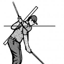 「ヘッドアップ防止はあごの高さを変えない」