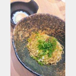 汁なし担々麺(C)日刊ゲンダイ