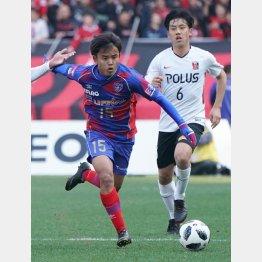 FC東京に所属するMF久保(C)日刊ゲンダイ