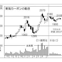 米関連大手を買収 「東海カーボン」更なる取引拡大に期待
