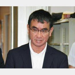 河野太郎外相(C)日刊ゲンダイ