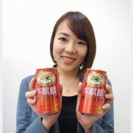 マーケティング部ビール類カテゴリー戦略担当の京谷侑香氏(C)日刊ゲンダイ