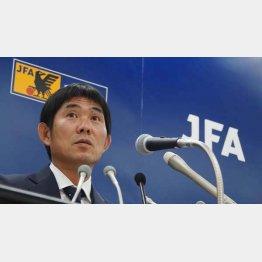 アジア大会メンバーを発表する森保監督(C)Norio ROKUKAWA/office La Strada