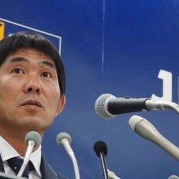 アジア大会メンバーを発表する森保監督