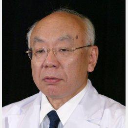 臼井正彦前理事長(C)共同通信社