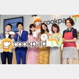 クックパッドTVは話題(C)日刊ゲンダイ