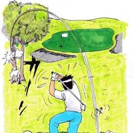 夏ゴルフの「パー3」ではティーアップをしない