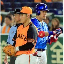 岡本(左)は筒香のひと言で……(写真は7月4日)(C)日刊ゲンダイ