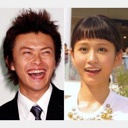 勝地涼(左)と前田敦子(C)日刊ゲンダイ