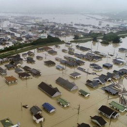 西日本豪雨雨も人災か
