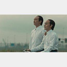 若ハゲ兄弟を熱演(「スカルプD」のCM)