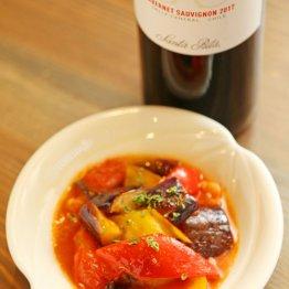 【トマトとナスのラタトゥイユ】パスタのソースとしても