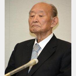 藤井裕久氏(C)日刊ゲンダイ