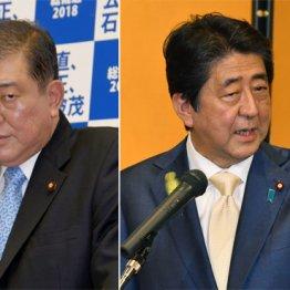 政策論争に持ち込みたい石破元幹事長と逃げる安倍首相