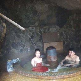 山梨・十谷上湯温泉 大自然の中で温冷交互入浴が楽しめる