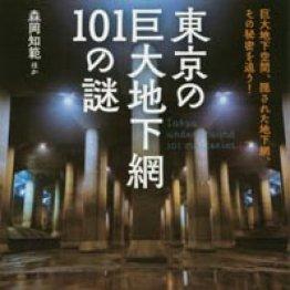 「東京の巨大地下網101の謎」森岡知範ほか著