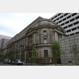 日本銀行(C)日刊ゲンダイ
