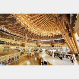 24時間使える図書館(国際教養大学HPより)