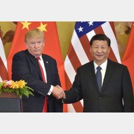 トランプ大統領と習近平国家主席(C)共同通信社