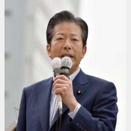 """""""安倍対策""""で続投(C)日刊ゲンダイ"""