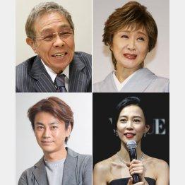 (左上から時計回りに)北島三郎、小林幸子、木村佳乃、氷川きよし(C)日刊ゲンダイ