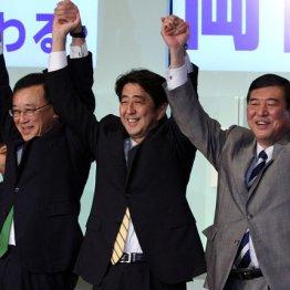 12年の総裁選 36都道府県で石破氏に負けた