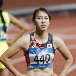 100メートルは予選で敗退した福島