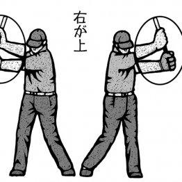 「右手はいつも左手の上」手首をこねるアマチュアが多い