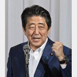 27日は福井で9条改憲を主張(C)共同通信社