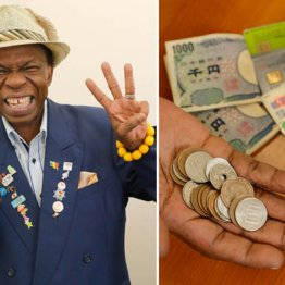 オスマン・サンコンさん「ギニアの男は財布を持たないの」