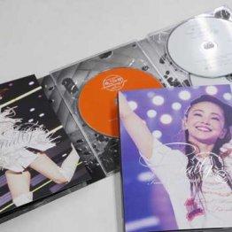 初回5バージョンにファン悲鳴…安室奈美恵ラストDVD狂想曲