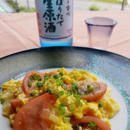 【トマトと卵の炒め物】相性バツグンのコクうまメニュー