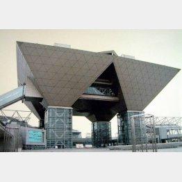 東京ビッグサイト(C)日刊ゲンダイ
