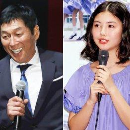 """明石家さんまと45歳差 """"恋人候補""""浜辺美波の勢い止まらず"""