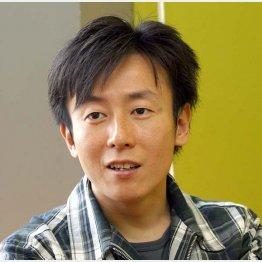 サイボウズの青野社長(C)日刊ゲンダイ