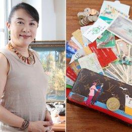 日野美歌さん ヴィトンの財布に5万1772円とお守りのコイン