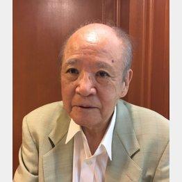 大阪府受動喫煙防止対策推進協議会会長の小林芳春氏(C)日刊ゲンダイ