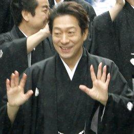 歌舞伎座新開場記念パレードでの中村福助