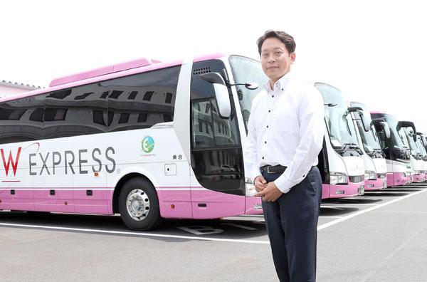 ウィラーエクスプレス 平山幸司社長(C)日刊ゲンダイ