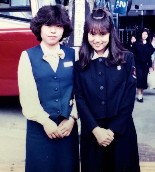 高校の修学旅行で九州を訪れた際の一コマ(提供写真)