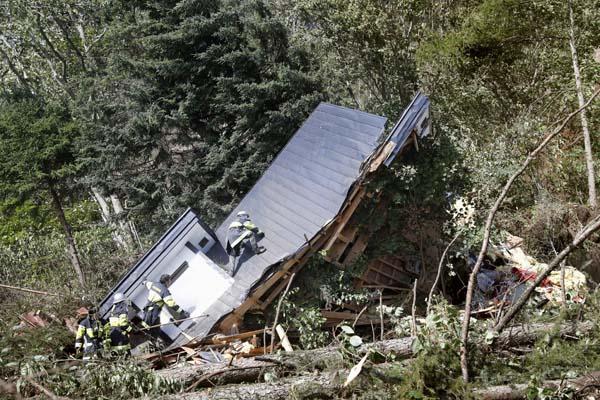 大地震は忘れたころに…(C)共同通信社